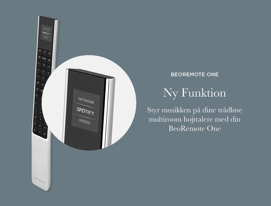 BeoRemote One - Ny funktion