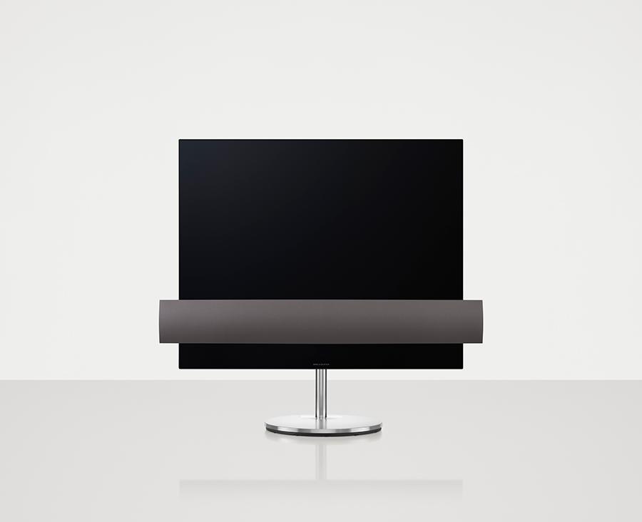 """BeoVision Eclipse 55"""" - Gulvstand - Stoffront - Produktbillede"""