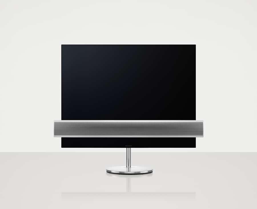 "BeoVision Eclipse 65"" - Gulvstand - Aluminiumsfront - Produktbillede"
