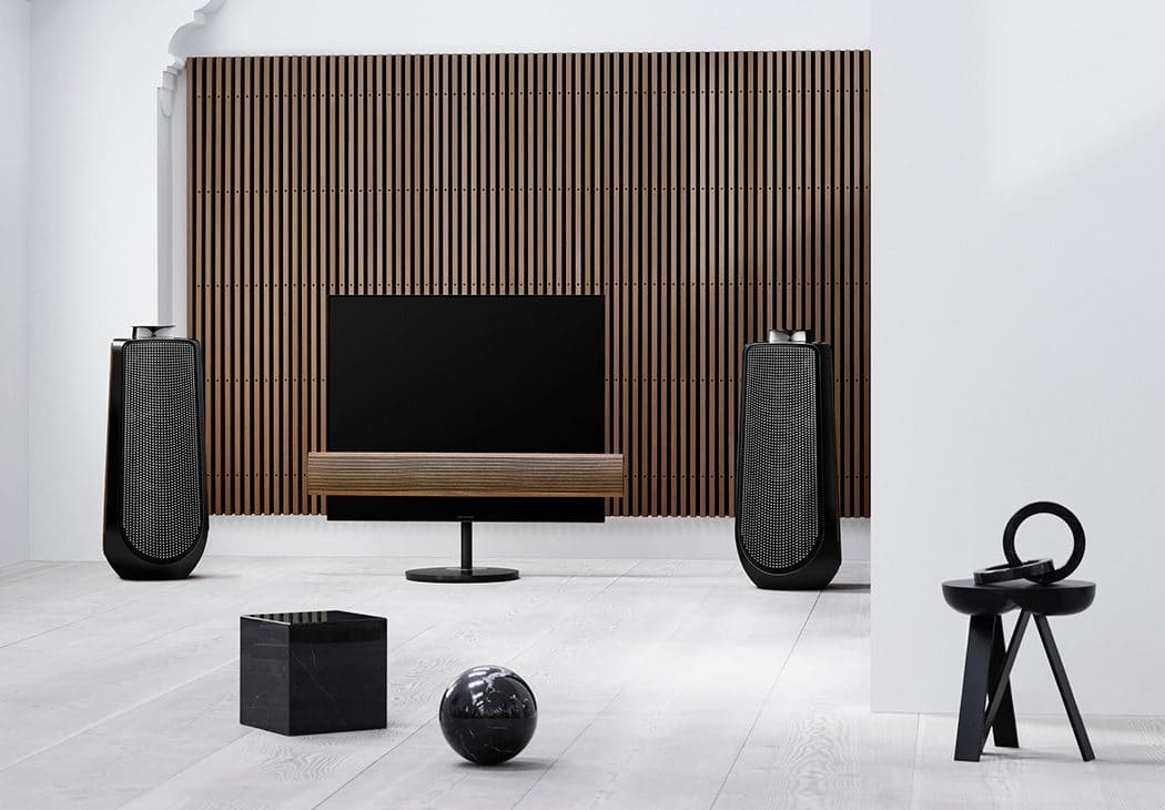 BeoVision Eclipse & BeoLab 50 i Piano Black