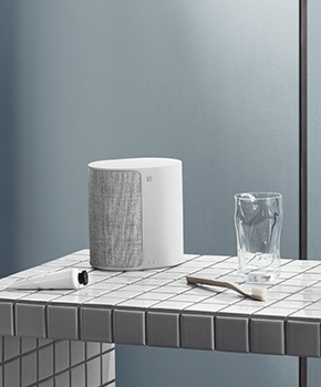 Beoplay M3 with multiroom in bathroom