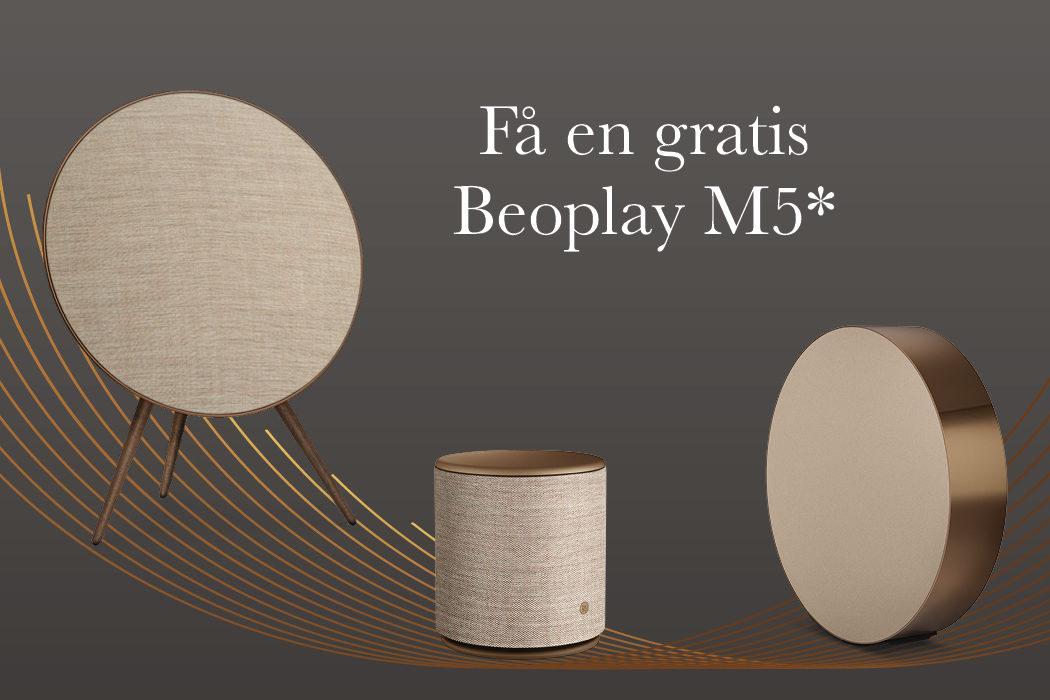 Få en gratis Beoplay M5